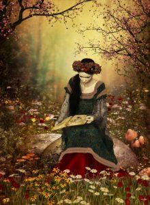 princess:book:flowers